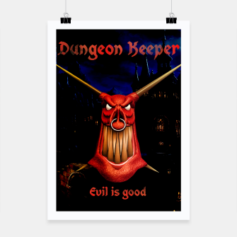 Thumbnail image of Dungeon Keeper Poster, Live Heroes