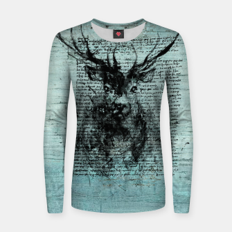 Thumbnail image of Deer Frauen sweatshirt, Live Heroes