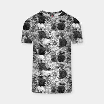 Thumbnail image of Carnation B&W T-shirt, Live Heroes