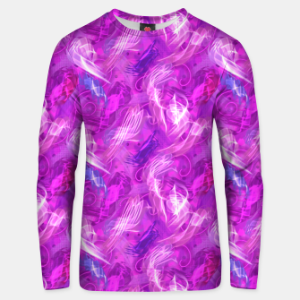 Thumbnail image of Mad Flares in Mauve Unisex sweater, Live Heroes