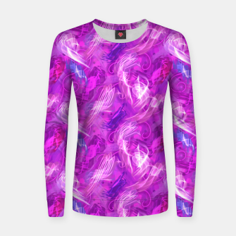 Thumbnail image of Mad Flares in Mauve Women sweater, Live Heroes