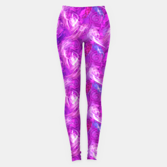 Thumbnail image of Mad Flares in Mauve Leggings, Live Heroes