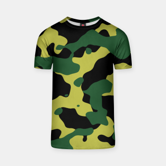 Thumbnail image of Camouflage Vert T-shirt, Live Heroes