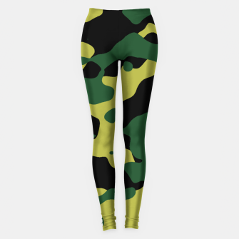 Thumbnail image of Camouflage Vert Leggings, Live Heroes