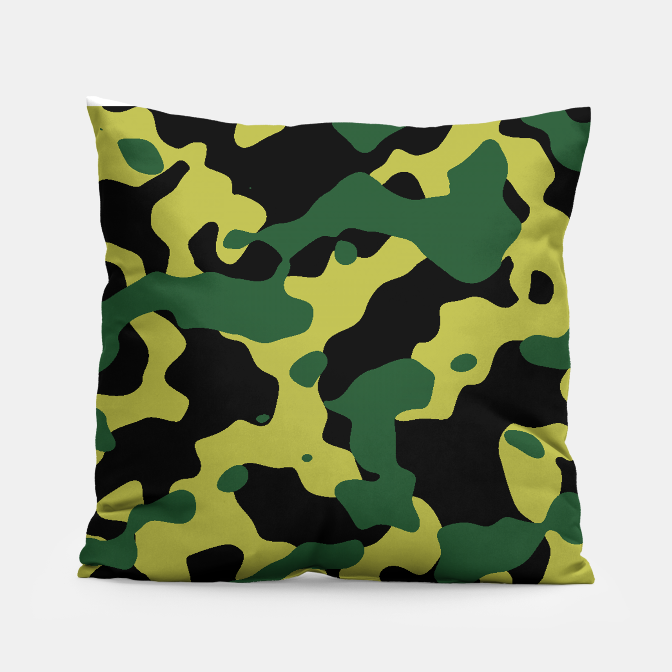 Image of Camouflage Vert Coussin - Live Heroes