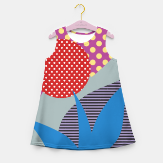 Thumbnail image of Sahara Street Passionita Girl's summer dress, Live Heroes