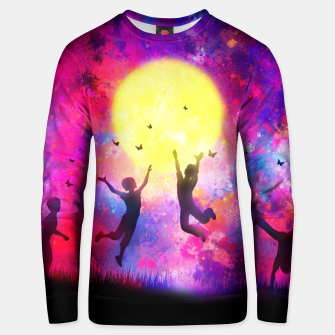 Miniatur Dreamy Night Unisex sweater, Live Heroes