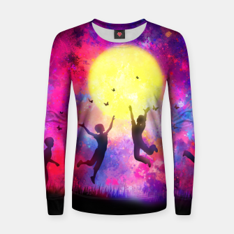 Miniatur Dreamy Night Women sweater, Live Heroes