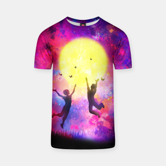 Miniatur Dreamy Night T-shirt, Live Heroes