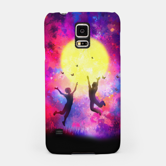 Miniatur Dreamy Night Samsung Case, Live Heroes