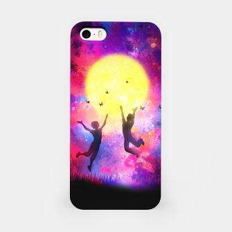 Miniatur Dreamy Night iPhone Case, Live Heroes