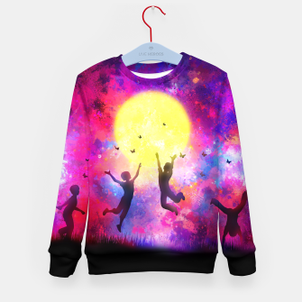 Miniatur Dreamy Night Kid's sweater, Live Heroes