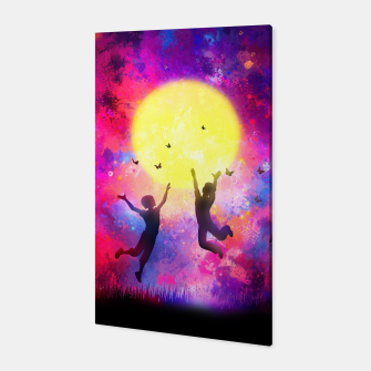 Miniatur Dreamy Night Canvas, Live Heroes