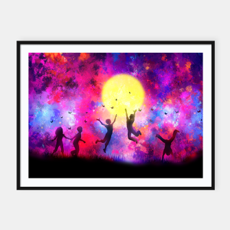 Miniaturka Dreamy Night Framed poster, Live Heroes