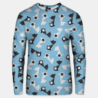 Thumbnail image of Yin and Yang Origami Fish Pattern Unisex sweatshirt, Live Heroes