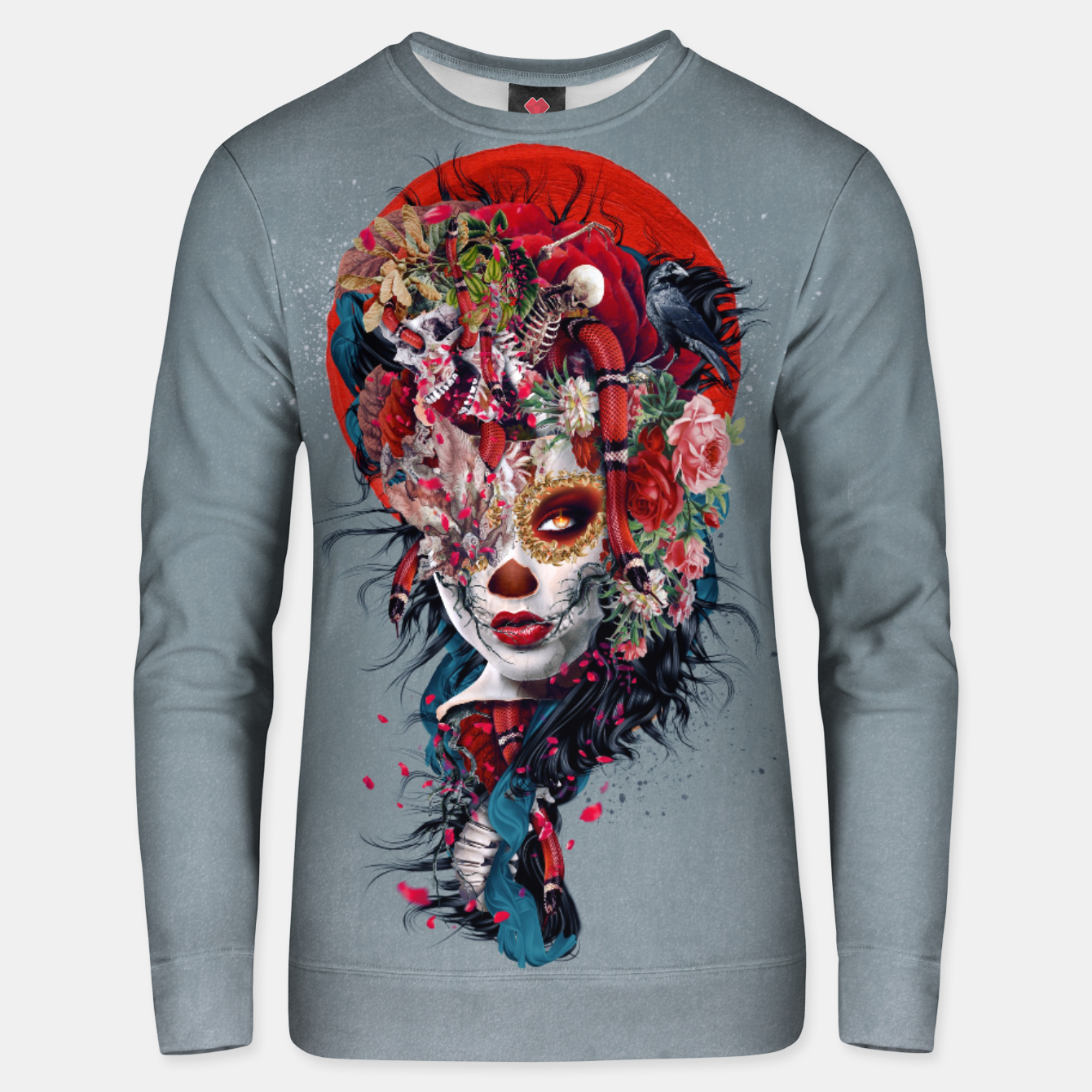 Image of Day of the Dead Unisex sweater - Live Heroes