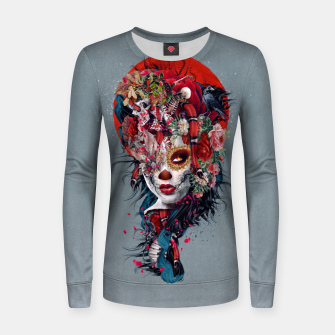 Thumbnail image of Day of the Dead Women sweater, Live Heroes