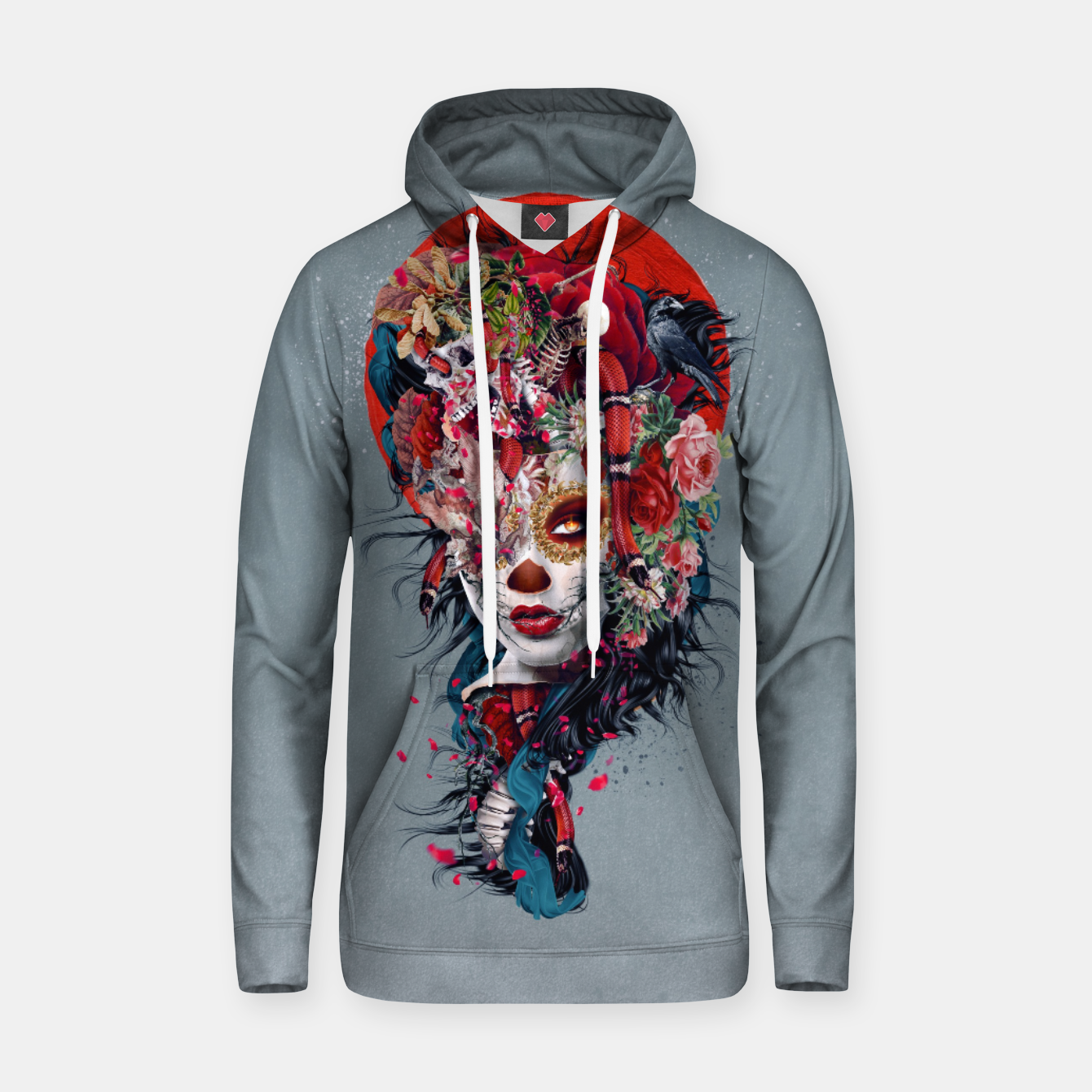 Image of Day of the Dead Hoodie - Live Heroes