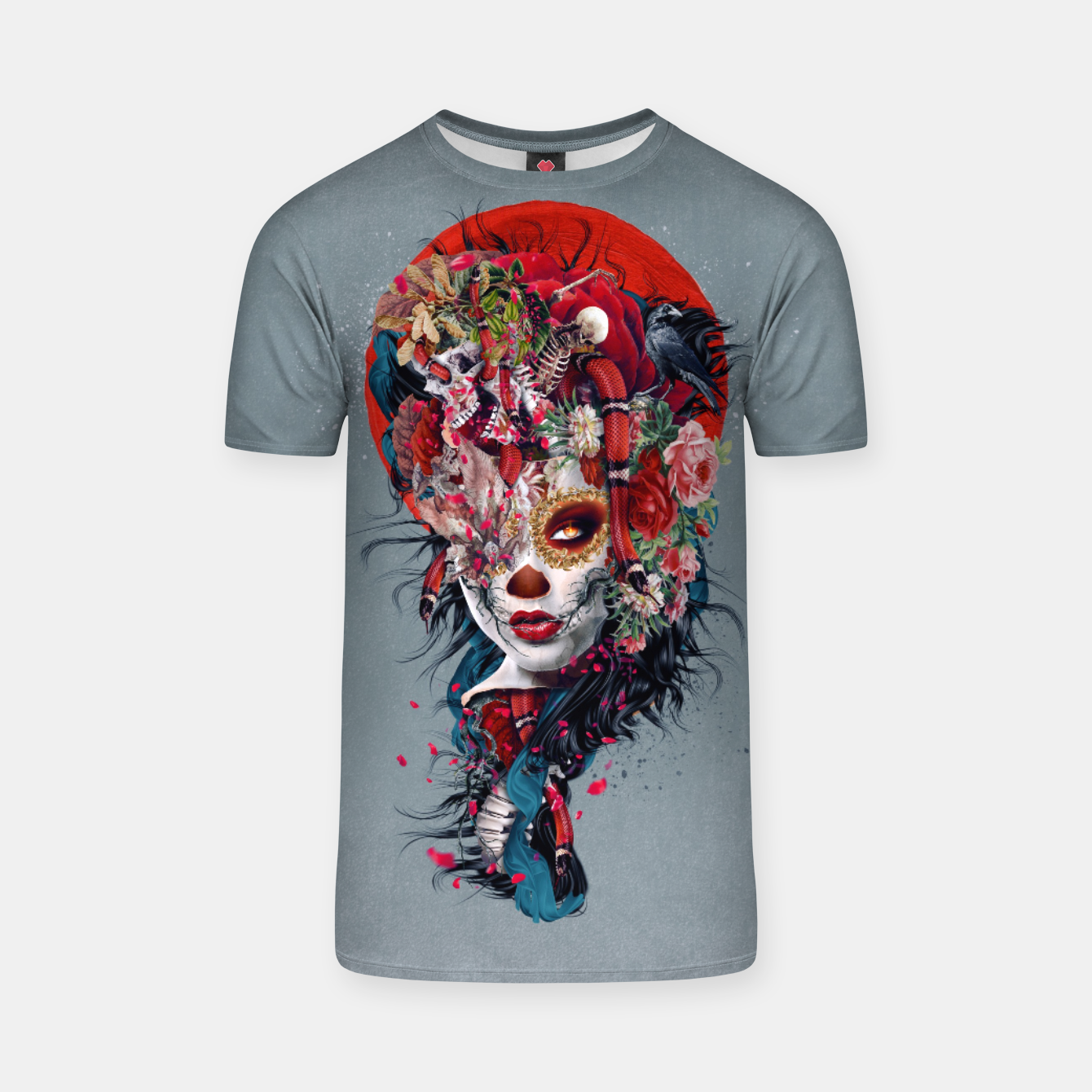 Image of Day of the Dead T-shirt - Live Heroes