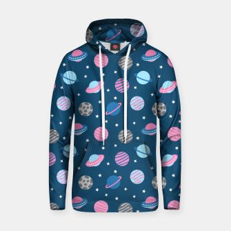 Thumbnail image of Universe & Planets Pattern Hoodie, Live Heroes