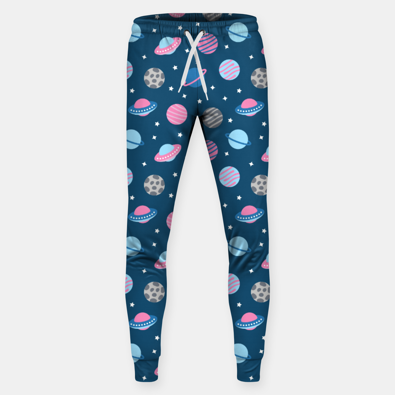Image of Universe & Planets Pattern Sweatpants - Live Heroes