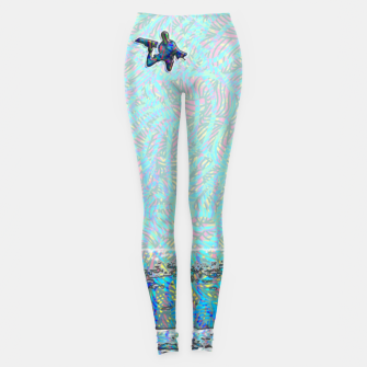 Thumbnail image of megaloop Leggings, Live Heroes