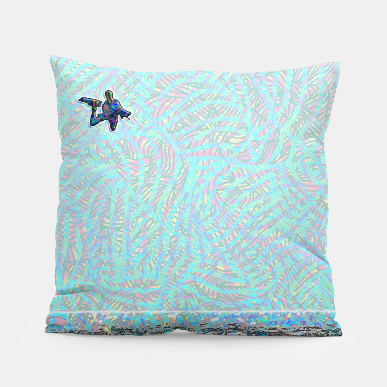Image of megaloop Pillow - Live Heroes
