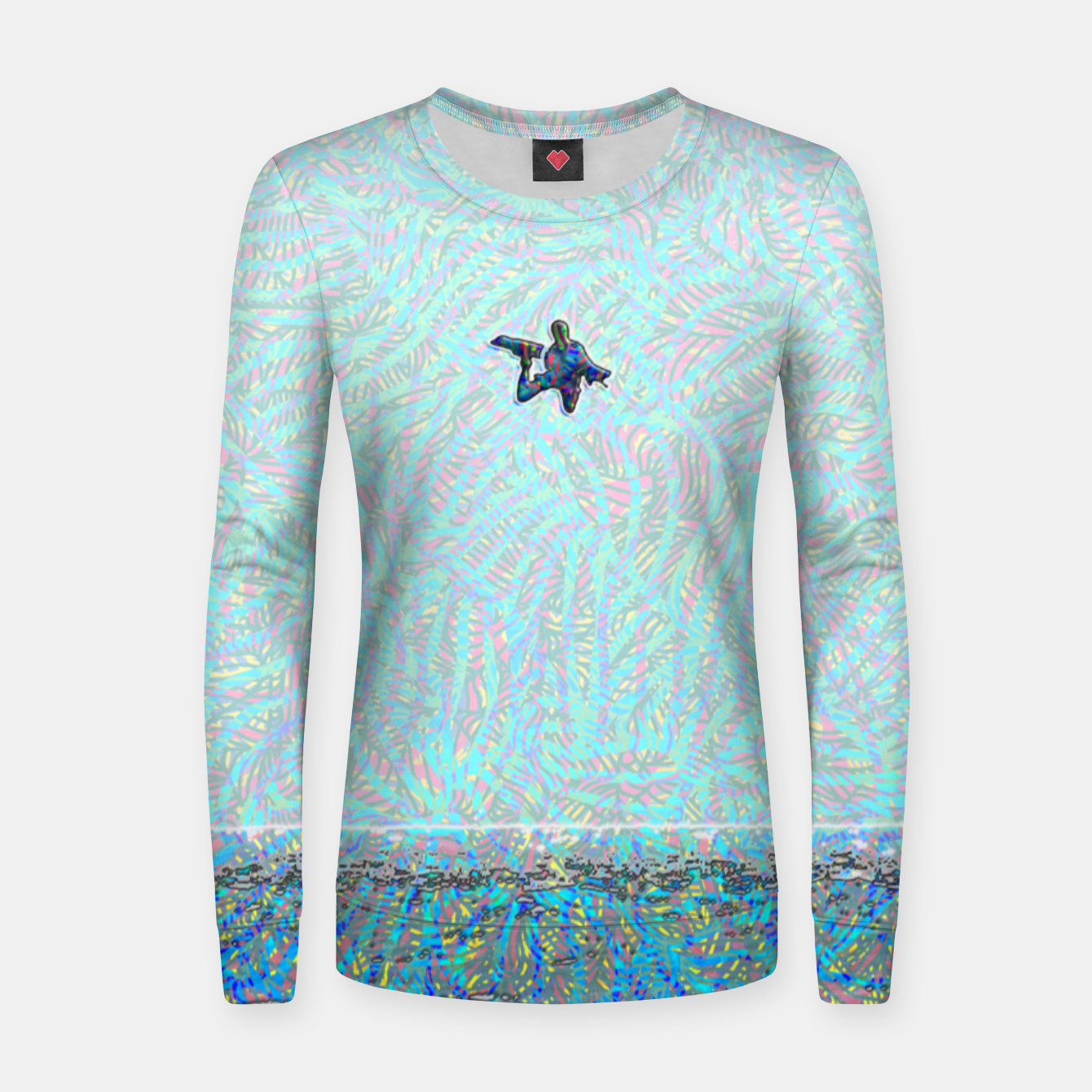 Image of megaloop Women sweater - Live Heroes