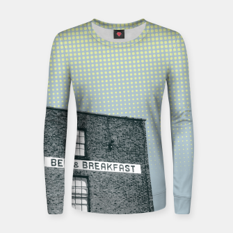 Thumbnail image of Bed & Breakfast Women sweater, Live Heroes