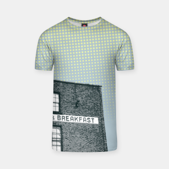 Thumbnail image of Bed & Breakfast T-shirt, Live Heroes