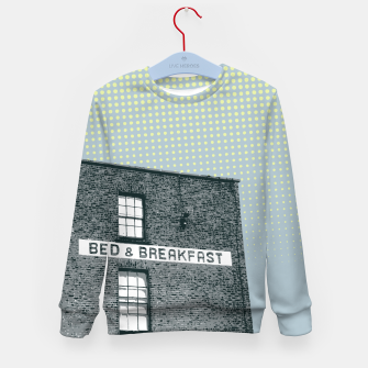 Thumbnail image of Bed & Breakfast Kid's sweater, Live Heroes