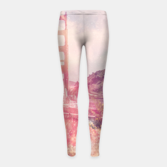 Thumbnail image of San Fran Girl's leggings, Live Heroes