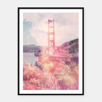 Thumbnail image of San Fran Framed poster, Live Heroes