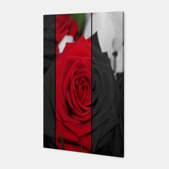 Miniatur Roses Rouge Toile, Live Heroes