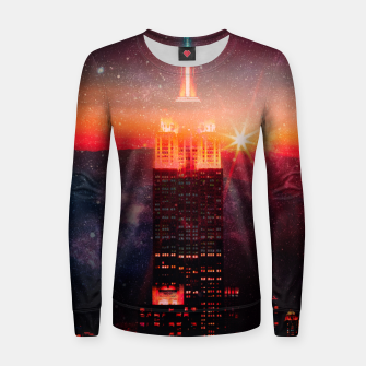 Thumbnail image of A World Away Women sweater, Live Heroes