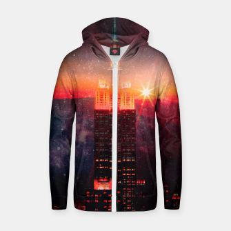 Thumbnail image of A World Away Zip up hoodie, Live Heroes