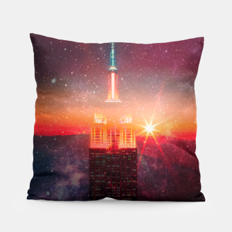 Thumbnail image of A World Away Pillow, Live Heroes