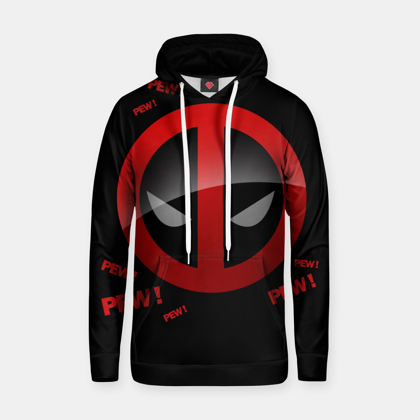 Image of PEW PEW Sudadera con capucha - Live Heroes