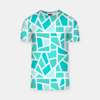 Thumbnail image of Turquoise Mosaic T-shirt, Live Heroes