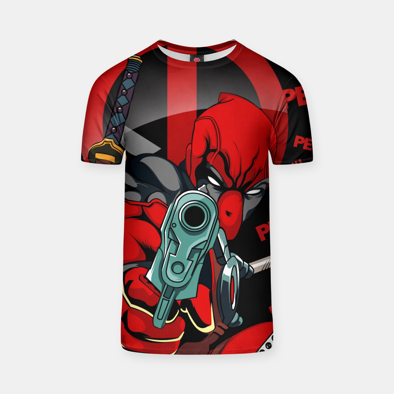 Image of Deadpool Camiseta - Live Heroes