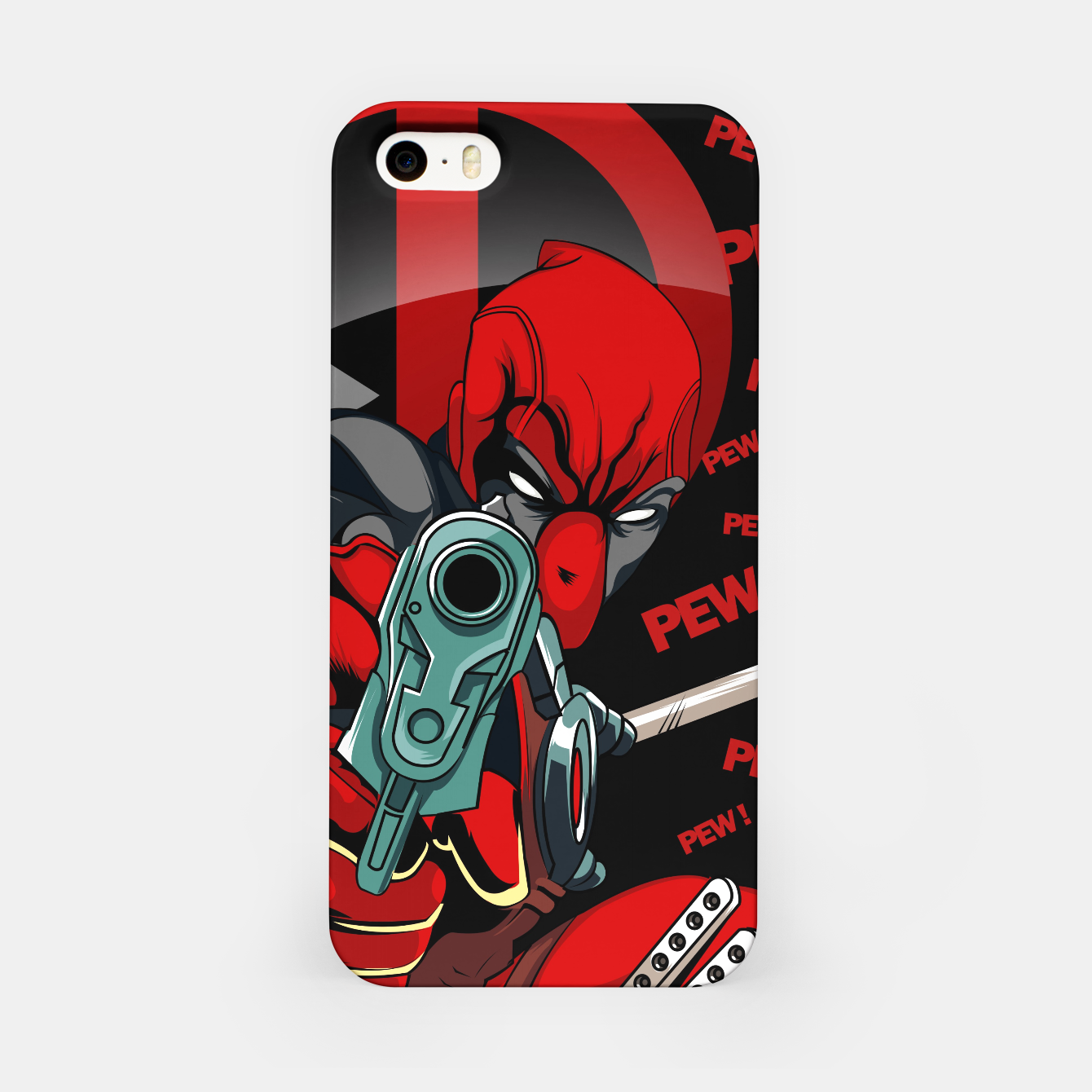 Image of Deadpool Carcasa por Iphone - Live Heroes
