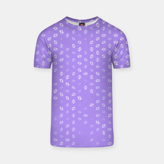 Thumbnail image of pisces zodiac sign pattern pu T-shirt, Live Heroes