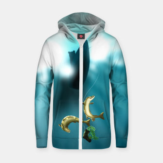Thumbnail image of Mischievous Pikes Zip up hoodie, Live Heroes