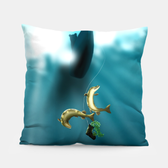 Thumbnail image of Mischievous Pikes Pillow, Live Heroes