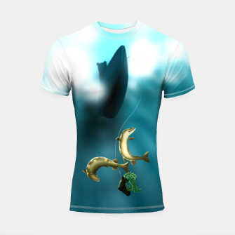 Thumbnail image of Mischievous Pikes Shortsleeve rashguard, Live Heroes