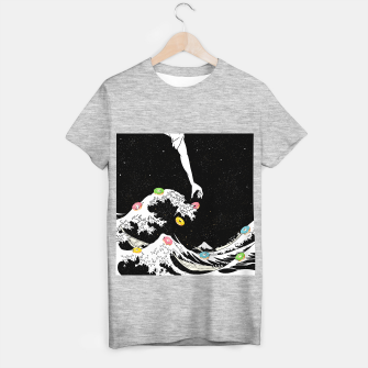 Thumbnail image of The great wave of doughnuts T-shirt regular, Live Heroes