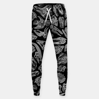 Paleontology Dream Dinosaur Fossil Skulls Pattern II Sweatpants thumbnail image
