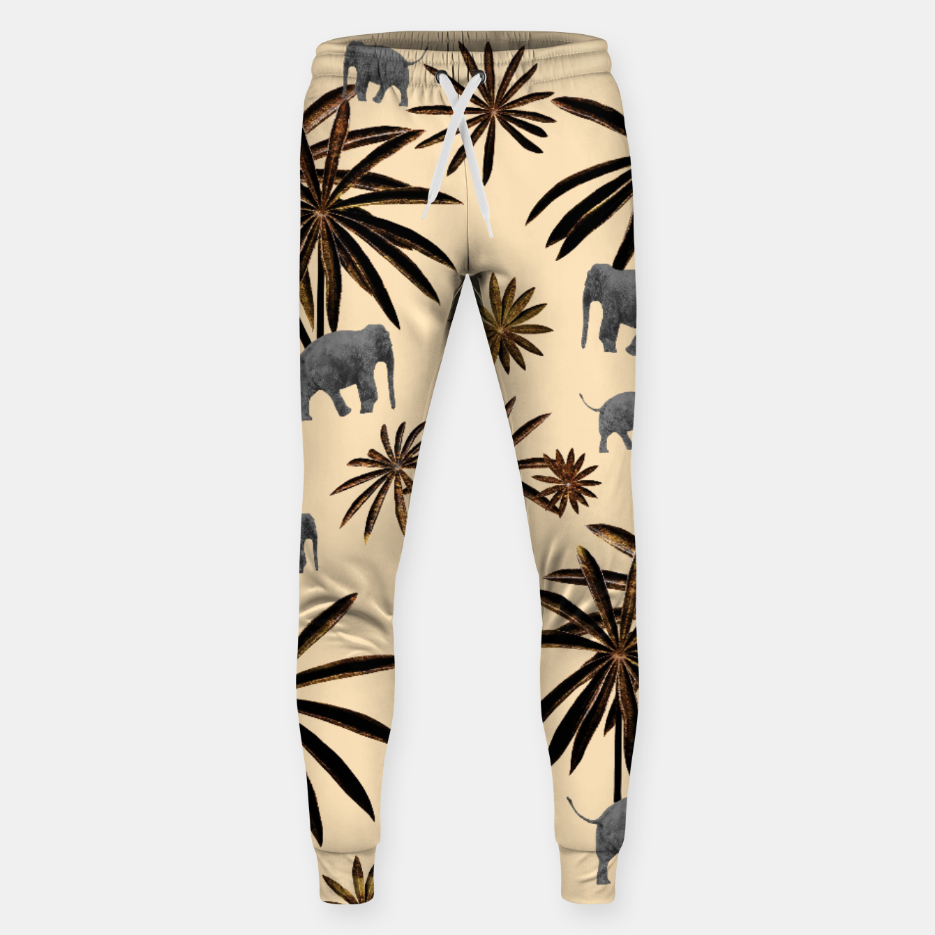 Image of Palm Tree Elephant Jungle Pattern #3 (Kids Collection) #decor #art Hosen - Live Heroes