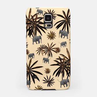Palm Tree Elephant Jungle Pattern #3 (Kids Collection) #decor #art Handyhülle für Samsung thumbnail image