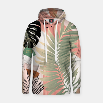 Palm Leaf Summer Glam #1 #tropical #decor #art  Kapuzenpullover thumbnail image